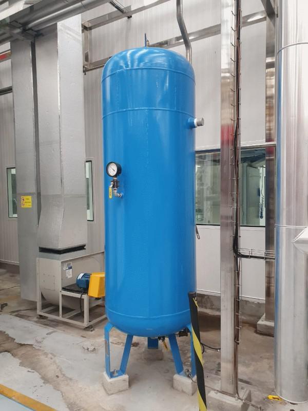 Adequação de vasos de pressão