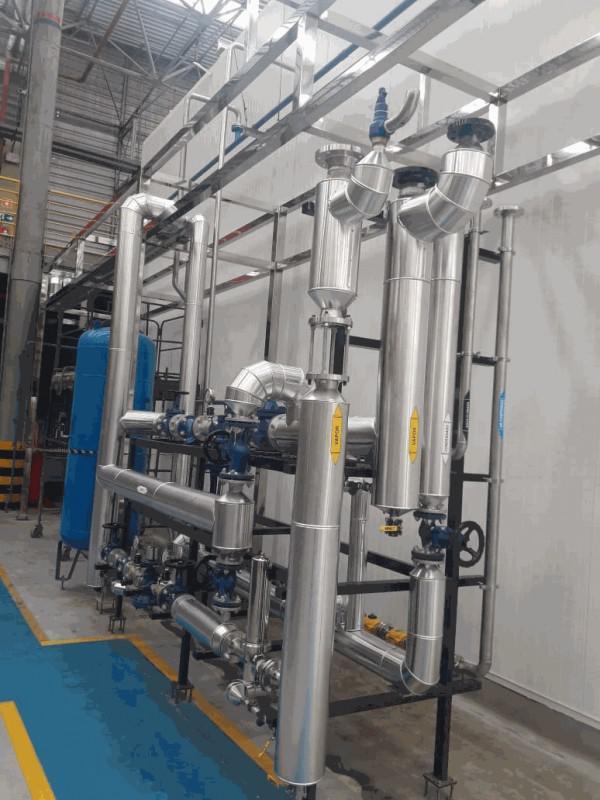 Isolamento termico industrial