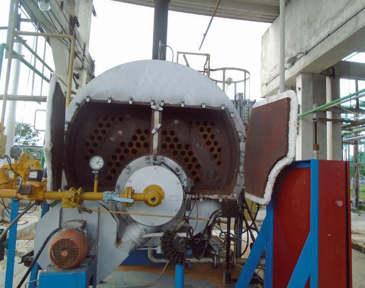 Manutenção de caldeira a gás