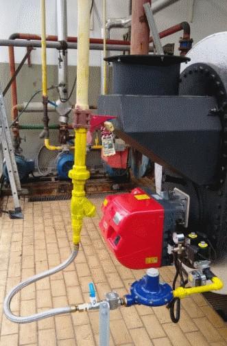 Montagem caldeira