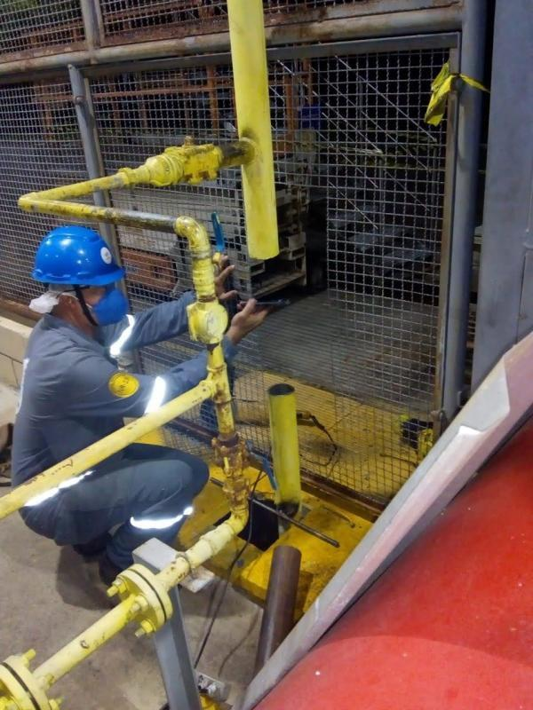 Serviços de tubulação industrial