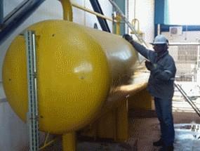 Vaso de pressão amonia