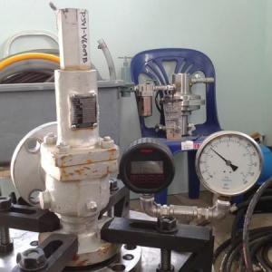 Calibração válvula de segurança
