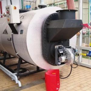Instalacao caldeira gas