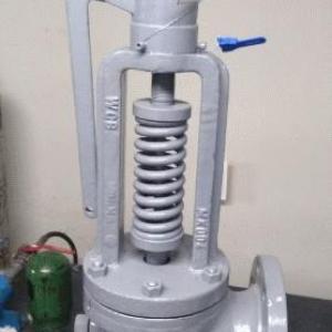Manutenção preventiva em válvulas de segurança