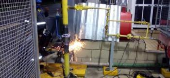 Empresas de manutenção de tubulação